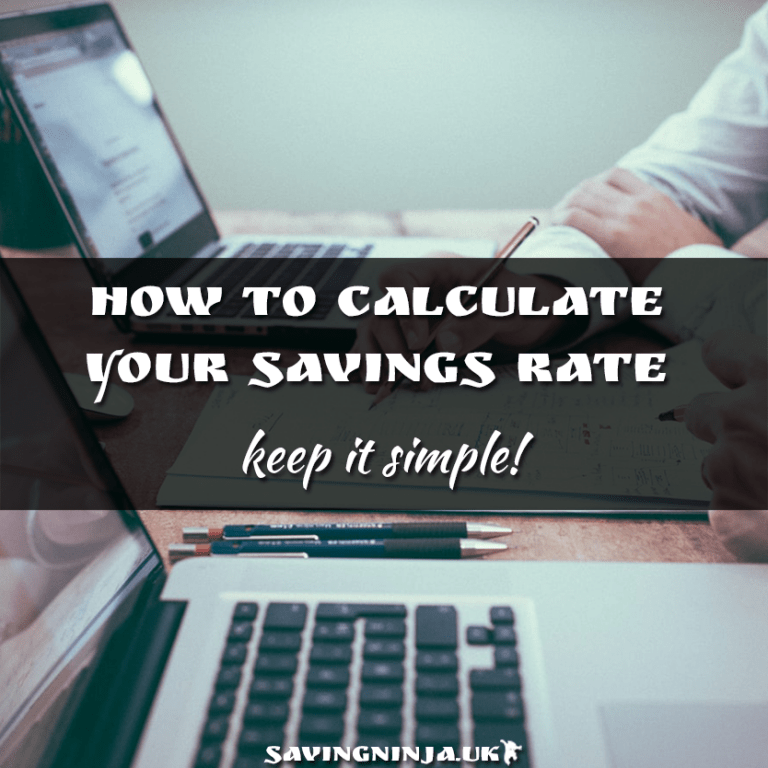 How to calculate your savings rate for financial independence.